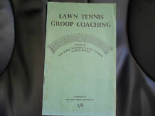 Lawn Tennis Group Coaching ~ Girls' Schools' Lawn Tennis Association c.1960s