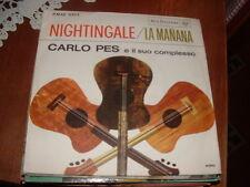"CARLO PES "" NIGHTINGALE - LA MANANA "" EX++ /VG+  ITALY'63"