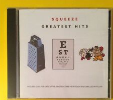 Squeeze Greatest Hits CD NEW SEALED Up The Junction/Cool For Cats/Hourglass+