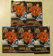 Lot of 5 2014 2015 Upper Deck HOBBY Series 1 Young Guns Rookie HOT PACKs !!!