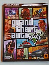 Grand Theft Auto V 5 Signature Series Guide BradyGames - Strategy Brady PS3 PS4