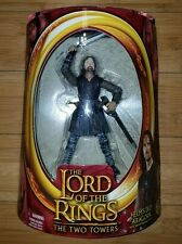 The Lord Of The Rings The Two Towers Aragorn Action Figure By Toybiz Free Ship