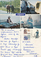 1990's MULTI VIEWS OF THE ALGARVE PORTUGAL COLOUR POSTCARD