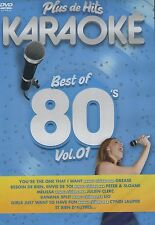 Plus de Hits Karaoké : Best of 80's Vol. 1 (DVD)
