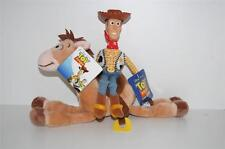TOY STORY - Woody & Bullseye Plush / Soft Toy BRAND NEW WITH TAGS