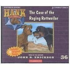 The Case of the Raging Rottweiler No. 36 by John R. Erickson (2002, CD,...