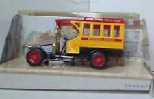 MATCHBOX MODELS OF YESTERYEAR Y44-1 ISSUE 2 1910 RENAULT T45 BUS Red Roof