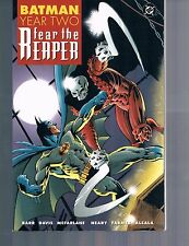 Batman Year Two: Fear the Reaper by Barr Davis McFarlane & more TPB 2002 DC OOP