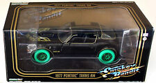 CHASE CAR Smokey and the Bandit 1977 Pontiac Trans AM Diecast 1:24 Greenlight