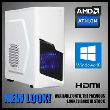 Gaming Computer Desktop PC Tower 16GB Memory 2TB Hard Drive HDMI Windows 10