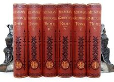 1876- The Historyof  Decline & Fall of the ROMAN EMPIRE- Gibbon- Antique Set