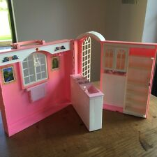 Vintage Barbie Mattel Hard Plastic Kitchen House 1998 1990s