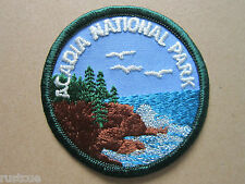 Acadia National Park Woven Cloth Patch Badge