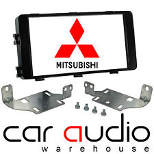 CT23MT16 Mitsubishi Outlander 2013 On Car Stereo Double Din Facia Fascia Panel