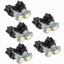 10 T5 0.2W LED 5050SMD Lámpara Bombilla Blanca para Tablero de Coche Auto