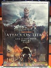 DVD Attack On Titan Live Action Movie Part 1 & 2 .. English Subtitle All Region