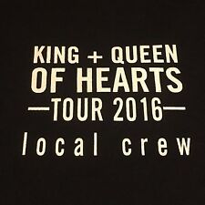 Maxwell & Mary J Blige King + Queen of Hearts Tour Local Crew T-shirt Size XL