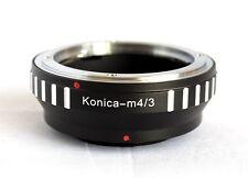 Konica AR Lens to Micro 4/3 M43 Mount Adapter GF3 EP3 E-P3 GX1 OM-D E-M5 AR-M43