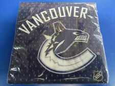 Vancouver Canucks NHL Pro Hockey Sports Banquet Party Paper Beverage Napkins