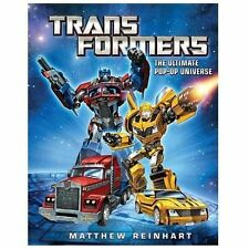 Transformers : The Ultimate Pop-Up Universe (2013, Picture Book)