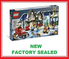 Lego Creator Christmas Winter Village City Post Office set 10222 New 7 minifig @