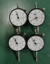 Mitutoyo Model 2050F Dial Indicator  Lot of 4