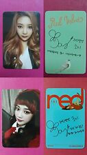 RED VELVET JOY 2pcs Official Photo Card Ice Cream Cake + The Red Photocard