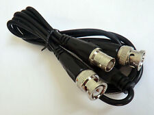 BNC female to Y type 2 BNC male Splitter Combiner cable pigtail 3FT 1F2M