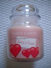 NEW Yankee Candle Jar 14.5 oz Hearts & Kisses Valentine's Day Gift