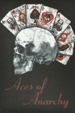 ACES OF ANARCHY ALCHEMY GOTHIC DEVIL CARDS SKULL TIN SIGN METAL WALL PLAQUE 999