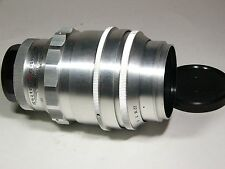 Tair-11 2,8/133mm #023721 with M39/M42 SLR Mount. 20 aperture blades. Silver