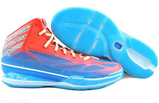 ADIDAS ADIZERO = SIZE 8 = CRAZY LIGHT 3 BLUE RED MENS BASKETBALL SHOES Q32579