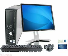 Dell Tower Desktop Computer PC Core 2 Duo 3.0Ghz 4GB 1TB Win 7 64 WIFI