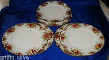 Royal Albert Old Country Roses Lunch Plates Individually Sold Rare Size 24 cm