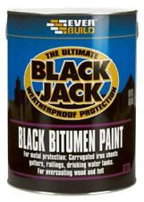 BITUMEN PAINT BLACK 1L Chemicals Coatings - JC87656