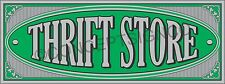 2'X5' THRIFT STORE BANNER Outdoor Indoor Sign Resale Shop Furniture Clothing