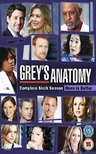 Grey's Anatomy Complete Series 6 DVD Box Set Season New Sealed UK 6th Greys