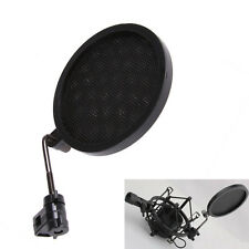 Filter Wind Screen Mask F Microphone Shock Mount Broadcasting Recording Karaoke