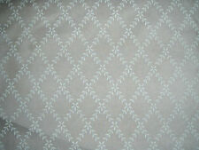 "SANDERSON  CURTAIN FABRIC DESIGN ""Laurel trellis"" SHEER VOILE FABRIC 9.3 METRES"
