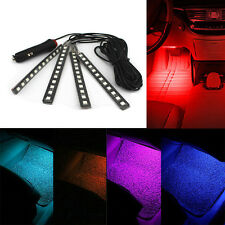 Universal Red 12 LED Car SUV Accessories Floor Decorative Atmosphere Lamp Light