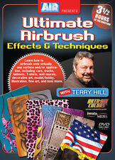 Ultimate Airbrush Techniques and Effects by Terry Hill 3 1/2 hr DVD (D1TH02)