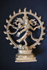 RARE Antique Bronze Carved Hindu Lord Shiva Nataraja Lord Of Dance Figure Statue