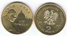 Papst Jan Pawel II 2005 2 Zl Muenze Nordic Gold Bfr,