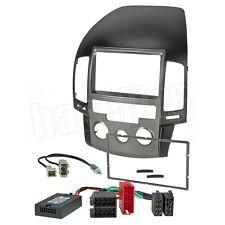 Hyundai i30 bis 2011Radioblene Doppel DIN & LFB Adapter für JVC KW-AVX  Radio