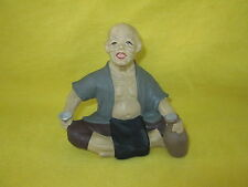 Vintage Japanese HAKATA Man Figurine - Doll (Man Drinking)