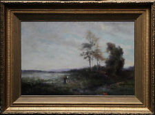 ROBERT MACGREGOR 1847-1922  IMPRESSIONIST SCOTTISH OIL ART LANDSCAPE PAINTING