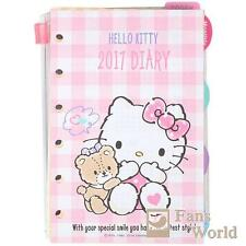 2017 Hello Kitty LV Agenda Refills Organizer Pages Bear Pink Sanrio