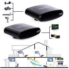 433MHz 200m inalámbrico infarrojos AV Transmisor+Receptor Set para DVD DVR IPTV