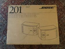 BRAND NEW Bose 201 Series V Direct/Reflecting Speakers Black