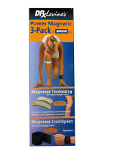 Magnetic bands Dr.Levine's set 3 pcs(2 band on the knee + 1 magnetic wrist strap